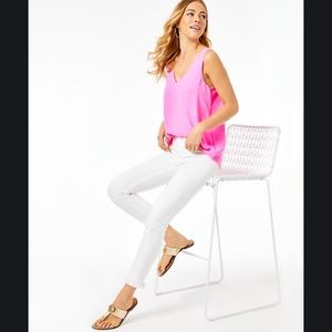 {Lilly Pulitzer} High Rise Crop Skinny Pant